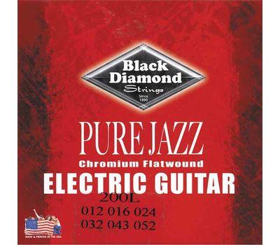 Струны для электрогитары Black Diamond 200L Pure Jazz фото 1 | Интернет-магазин Bangbang