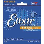 Струны для электрогитары Elixir 12152 (12-52) фото 1 | Интернет-магазин Bangbang