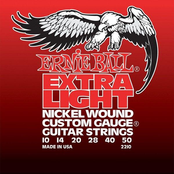 Струны для электрогитары Ernie Ball 2210 фото 1 | Интернет-магазин Bangbang