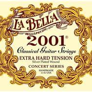 Струны для классической гитары La Bella 2001 Extra Hard Tension фото 1 | Интернет-магазин Bangbang