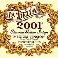 Струны для классической гитары La Bella 2001M Medium Tension фото 1 | Интернет-магазин Bangbang