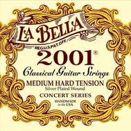Струны для классической гитары La Bella 2001MH Medium Hard Tension фото 1 | Интернет-магазин Bangbang