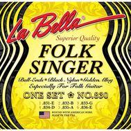 Струны для классической гитары La Bella NO830 фото 1 | Интернет-магазин Bangbang