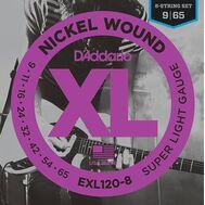 Струны для восьмиструнной электрогитары D'Addario EXL120-8 Nickel Wound фото 1   Интернет-магазин Bangbang