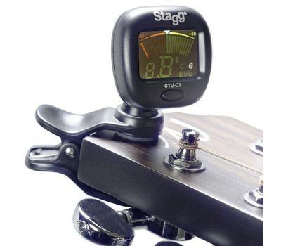 Тюнер для гитары Stagg CTU-C3 фото 1 | Интернет-магазин Bangbang