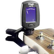 Тюнер для гитары Stagg CTU-C5 BK фото 1 | Интернет-магазин Bangbang