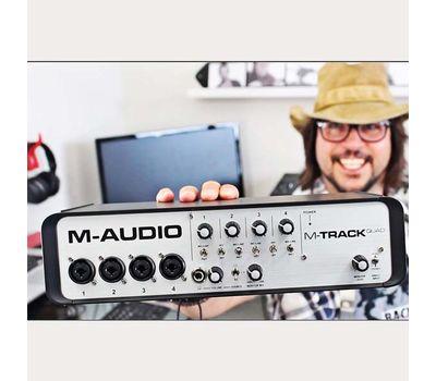 Звуковая карта M-Audio MTrack Quad фото 2 | Интернет-магазин Bangbang