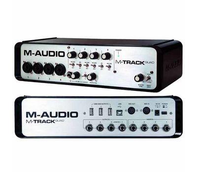 Звуковая карта M-Audio MTrack Quad фото 3 | Интернет-магазин Bangbang